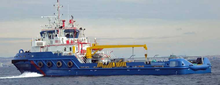 4,826 hp Ice Classed Anchor Handling / Supply Tug