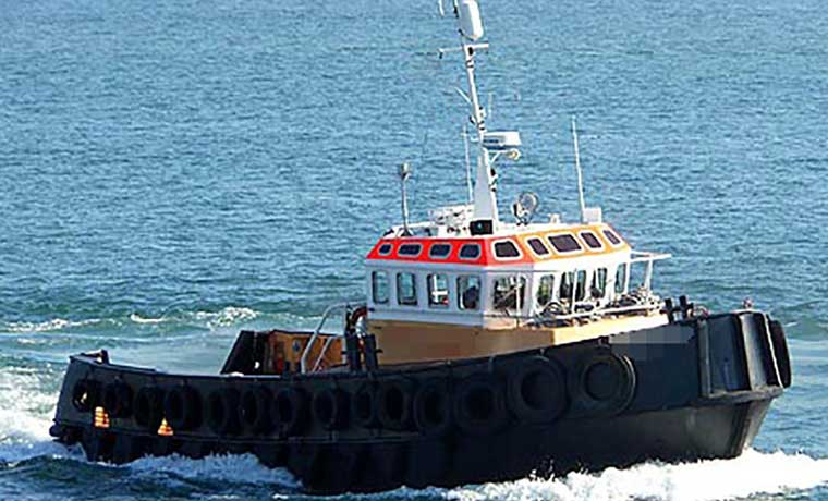 880 hp Twin Screw Near Shore Tug and GP Work Boat