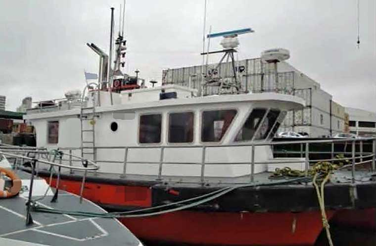 380 hp General Purpose Workboat (Fiberglass)