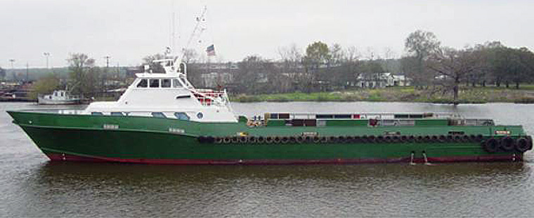 135-foot Class Offshore Crew and Supply Vessel